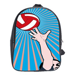 Volly Ball Sport Game Player School Bags(large)