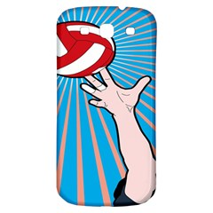 Volly Ball Sport Game Player Samsung Galaxy S3 S Iii Classic Hardshell Back Case by Mariart