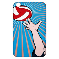 Volly Ball Sport Game Player Samsung Galaxy Tab 3 (8 ) T3100 Hardshell Case  by Mariart