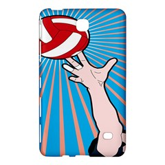 Volly Ball Sport Game Player Samsung Galaxy Tab 4 (8 ) Hardshell Case  by Mariart