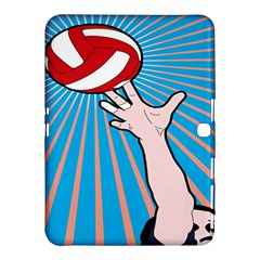 Volly Ball Sport Game Player Samsung Galaxy Tab 4 (10 1 ) Hardshell Case  by Mariart