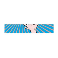 Volly Ball Sport Game Player Flano Scarf (mini) by Mariart