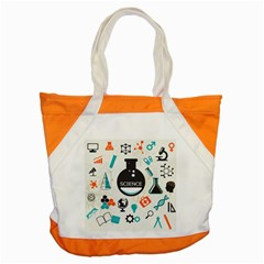 Science Chemistry Physics Accent Tote Bag by Mariart