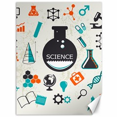 Science Chemistry Physics Canvas 36  X 48   by Mariart