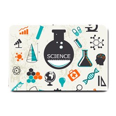 Science Chemistry Physics Small Doormat  by Mariart