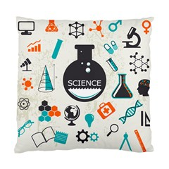 Science Chemistry Physics Standard Cushion Case (one Side) by Mariart