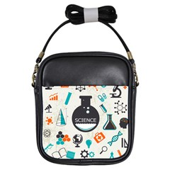 Science Chemistry Physics Girls Sling Bags by Mariart