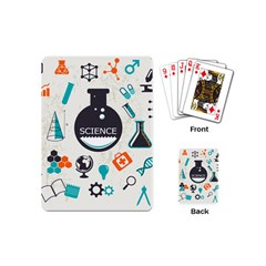 Science Chemistry Physics Playing Cards (mini)  by Mariart