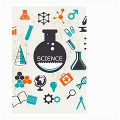 Science Chemistry Physics Small Garden Flag (two Sides) by Mariart