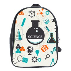 Science Chemistry Physics School Bags (xl)  by Mariart
