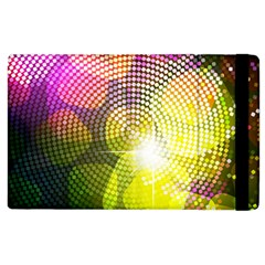 Plaid Star Light Color Rainbow Yellow Purple Pink Gold Blue Apple Ipad 2 Flip Case by Mariart