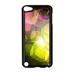 Plaid Star Light Color Rainbow Yellow Purple Pink Gold Blue Apple Ipod Touch 5 Case (black) by Mariart
