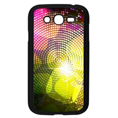 Plaid Star Light Color Rainbow Yellow Purple Pink Gold Blue Samsung Galaxy Grand Duos I9082 Case (black) by Mariart