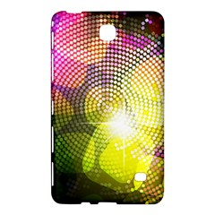 Plaid Star Light Color Rainbow Yellow Purple Pink Gold Blue Samsung Galaxy Tab 4 (8 ) Hardshell Case