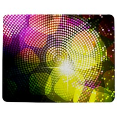 Plaid Star Light Color Rainbow Yellow Purple Pink Gold Blue Jigsaw Puzzle Photo Stand (rectangular) by Mariart
