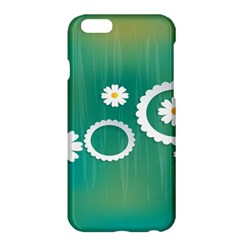 Sunflower Sakura Flower Floral Circle Green Apple Iphone 6 Plus/6s Plus Hardshell Case by Mariart