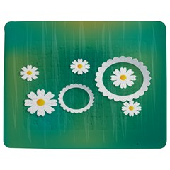 Sunflower Sakura Flower Floral Circle Green Jigsaw Puzzle Photo Stand (rectangular) by Mariart