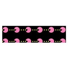 Wallpaper Pacman Texture Bright Surface Satin Scarf (oblong)
