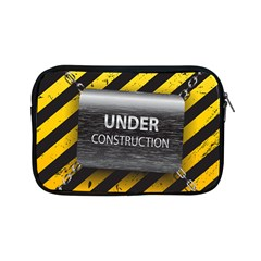 Under Construction Sign Iron Line Black Yellow Cross Apple Ipad Mini Zipper Cases by Mariart