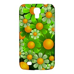 Sunflower Flower Floral Green Yellow Samsung Galaxy Mega 6 3  I9200 Hardshell Case