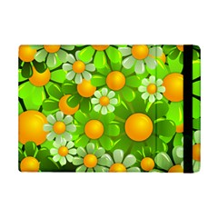 Sunflower Flower Floral Green Yellow Ipad Mini 2 Flip Cases by Mariart