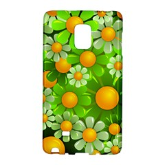 Sunflower Flower Floral Green Yellow Galaxy Note Edge by Mariart