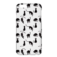 Black Cats Pattern Apple Iphone 6 Plus/6s Plus Hardshell Case by Valentinaart