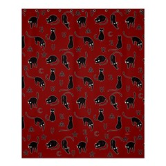 Black Cats And Witch Symbols Pattern Shower Curtain 60  X 72  (medium)  by Valentinaart