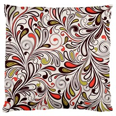 Colorful Abstract Floral Background Standard Flano Cushion Case (two Sides) by TastefulDesigns