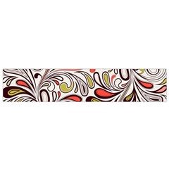 Colorful Abstract Floral Background Flano Scarf (small) by TastefulDesigns