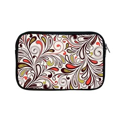 Colorful Abstract Floral Background Apple Macbook Pro 13  Zipper Case by TastefulDesigns