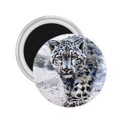 Snow Leopard 2 25  Magnets by kostart