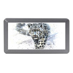 Snow Leopard Memory Card Reader (mini) by kostart
