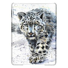 Snow Leopard Ipad Air Hardshell Cases by kostart