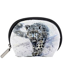 Snow Leopard Accessory Pouches (small)  by kostart