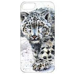 Snow Leopard  Apple Iphone 5 Classic Hardshell Case by kostart