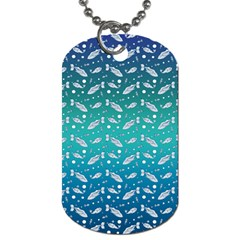 Under The Sea Paisley Dog Tag (two Sides)
