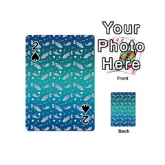Under The Sea Paisley Playing Cards 54 (mini)