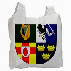 Arms Of Four Provinces Of Ireland  Recycle Bag (two Side)  by abbeyz71