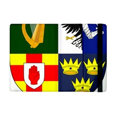 Arms Of Four Provinces Of Ireland  Apple Ipad Mini Flip Case by abbeyz71