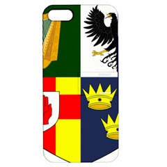 Arms Of Four Provinces Of Ireland  Apple Iphone 5 Hardshell Case With Stand by abbeyz71