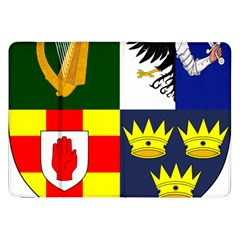 Arms Of Four Provinces Of Ireland  Samsung Galaxy Tab 8 9  P7300 Flip Case by abbeyz71