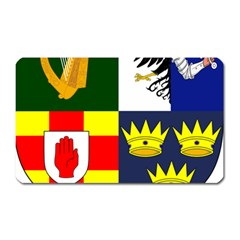 Arms Of Four Provinces Of Ireland  Magnet (rectangular) by abbeyz71