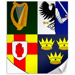 Arms Of Four Provinces Of Ireland  Canvas 20  X 24   by abbeyz71