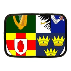 Arms Of Four Provinces Of Ireland  Netbook Case (medium)  by abbeyz71