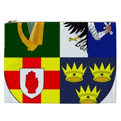 Arms Of Four Provinces Of Ireland  Cosmetic Bag (xxl)  by abbeyz71