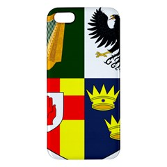 Arms Of Four Provinces Of Ireland  Iphone 5s/ Se Premium Hardshell Case by abbeyz71
