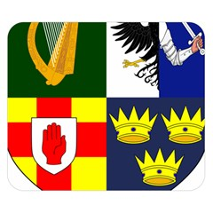 Arms Of Four Provinces Of Ireland  Double Sided Flano Blanket (small)  by abbeyz71
