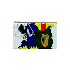 Flag Map Of Provinces Of Ireland Cosmetic Bag (small)  by abbeyz71