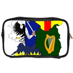 Flag Map Of Provinces Of Ireland  Toiletries Bags 2 Side by abbeyz71